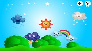 アクティブ! 子どもたちは、太陽、雨、雲と天気について学ぶためのゲームのスクリーンショット4