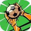 Flick Goalkeeper - Can you stop the soccer ball of a football striker's perfect kick?