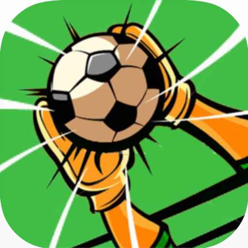 Flick Goalkeeper - Can you stop the soccer ball of a football strikers perfect kick?
