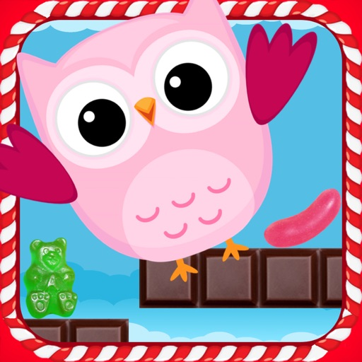 Cute Owl Jumper Sweet Candy Edition