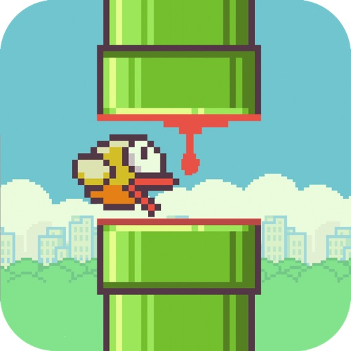 Squishy Bird - Flappy Wings Revenge Free iOS App