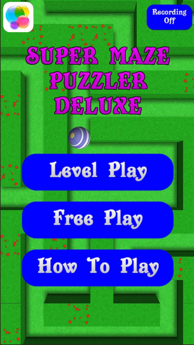 Super Maze Puzzler Deluxe