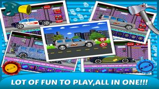 Little Car Wash –washing up free kids Games-1