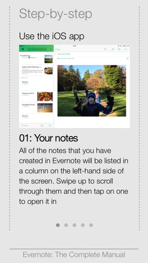 complete manual evernote edition on the app store rh itunes apple com Evernote Atlas iPad Evernote