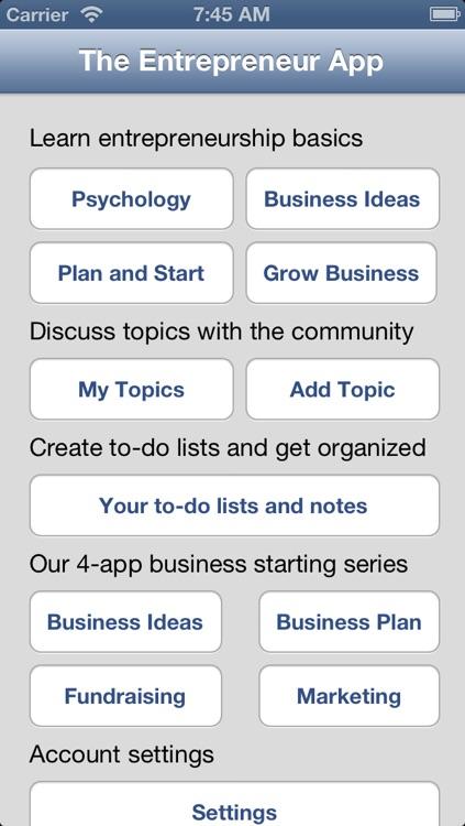 Entrepreneurs & Startup Community