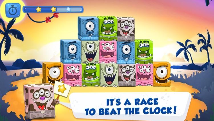 Tip Tap Monsters - Family Mahjong Game screenshot-3