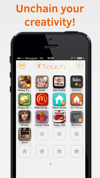 1Touch - Customize your Home Screen with powerful shortcut icons screenshot-3