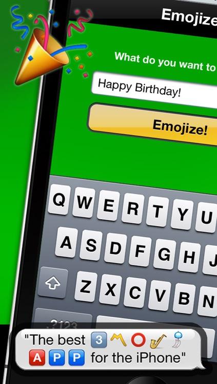 Emojizer Emoji Words and Names that Transform to Emoticons screenshot-3