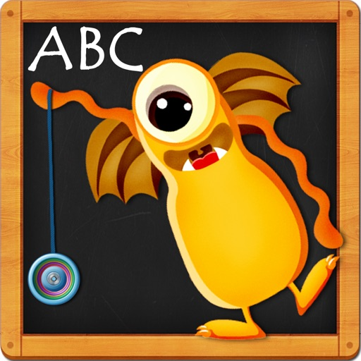 Monster ABCs – Letters Handwriting Game for Kids FREE iOS App