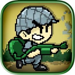 Army Mini Pixel Commando Brigade: Bug Killer Soldier Warriors