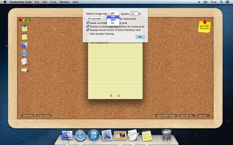 Screenshot Grab скриншот программы 4