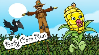`Baby Corn Run Race Free - Easy Kids Jump Chase Racing by Top Crazy Games Screenshot on iOS