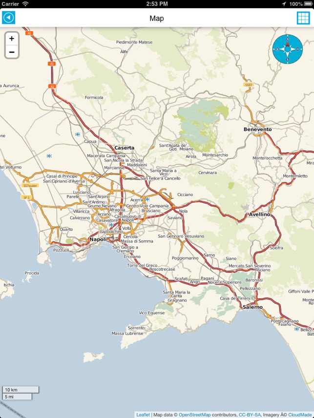 Italy offline road map, guide, hotels (free edition) on the App Store