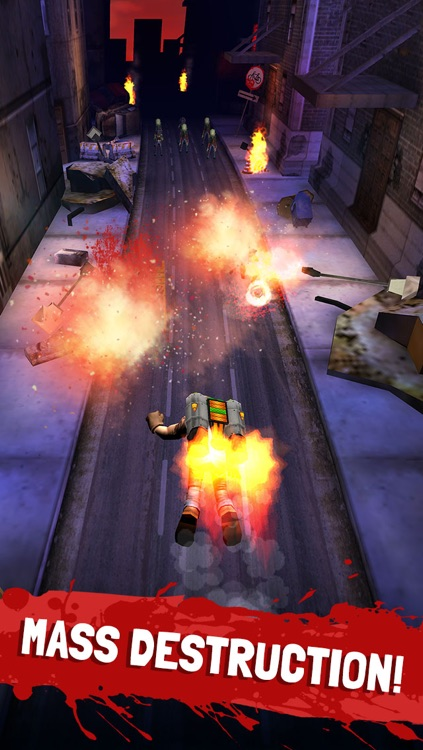 Running Zombie War: Killing Dead - by Fun Games For Free screenshot-3