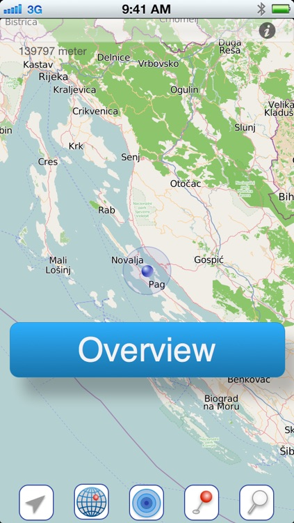 Croatia Offline Travelmap screenshot-1