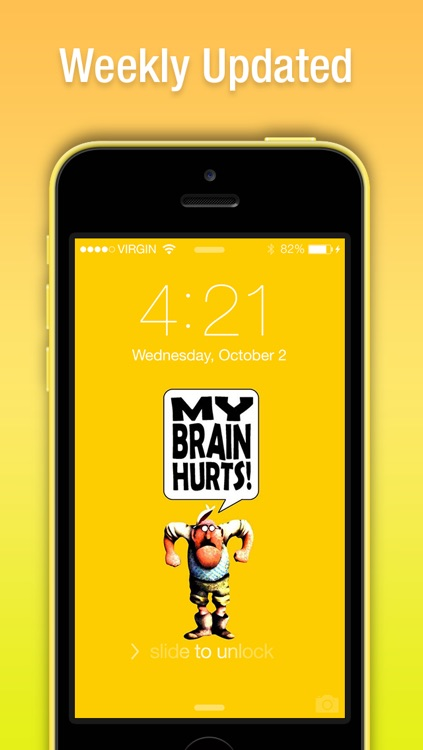 Awesome Funny Wallpapers for iPhone, iPad & iPod - Cute & Fun for the Whole Family :) screenshot-3