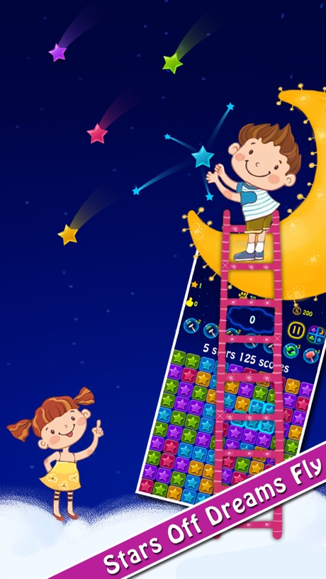 Lucky Stars 2 – A Free Addictive Star Crush Game To Pop All Stars In The Sky