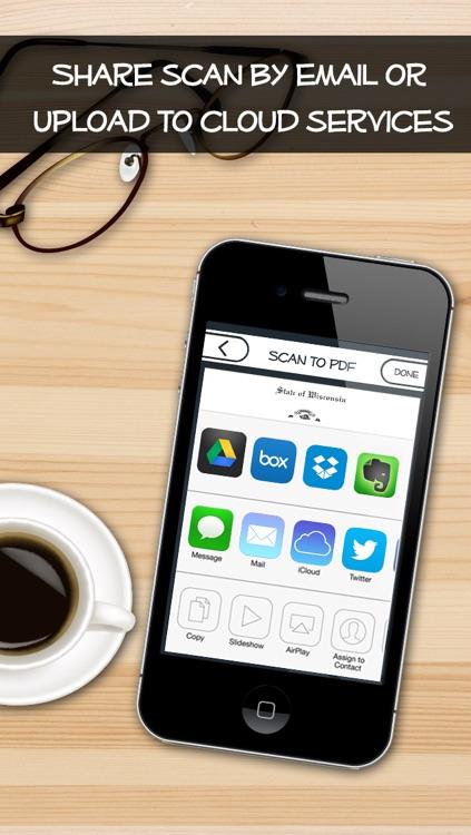 PDF Scanner- Scan to PDF + Camera to PDF screenshot-3