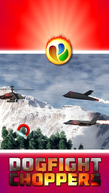 Dogfight Choppers - Free Military Helicopter War Game screenshot-3