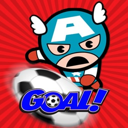 Super Hero Soccer - Free Sport Games for Kids kick for Goal