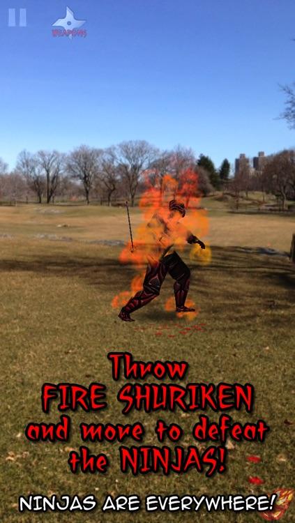 Ninjas Everywhere! An Augmented Reality Experience FREE