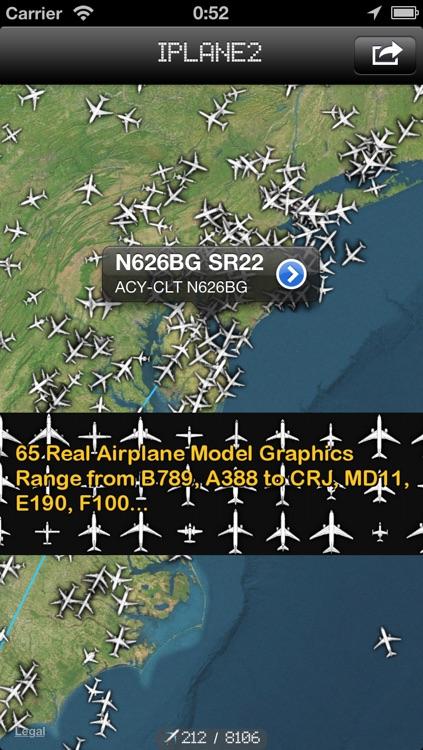iPlane 2 - Flight Info + Status + Radar Tracker