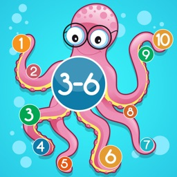 Underwater math game for children age 3-6: Learn the numbers 1-10 for kindergarten, preschool or nursery school!