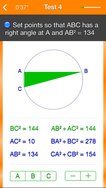 Pythagorean Theorem and its Converse screenshot-4