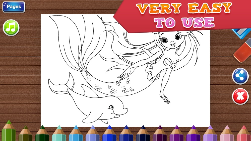 Coloring Pages for Girls – Fun Games for Kids Cheat Codes