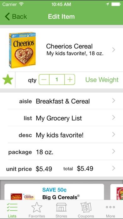 Grocery iQ app image