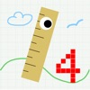 Number Jumper - cute retro jumping game