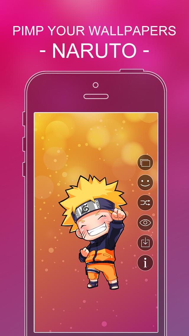 点击获取Pimp Your Wallpapers Pro - Naruto Edition for iOS 7