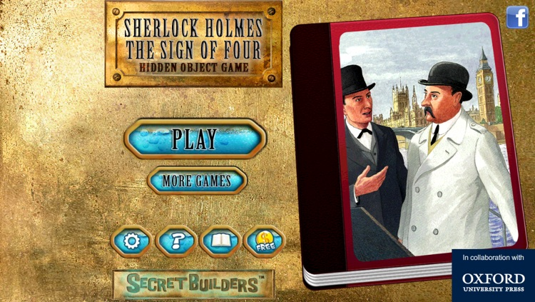 Hidden Object Game FREE - Sherlock Holmes: The Sign of Four screenshot-4
