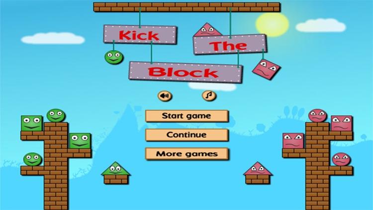 Kick The Red Block : Cut The Wood