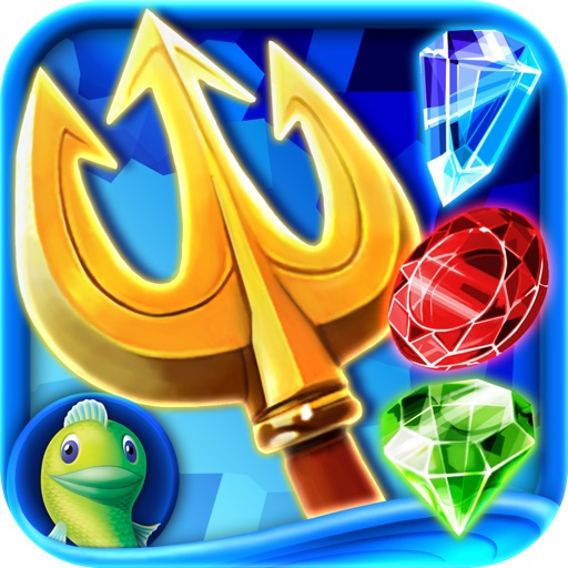 Jewel Legends: Atlantis HD - A Match 3 Puzzle Adventure icon