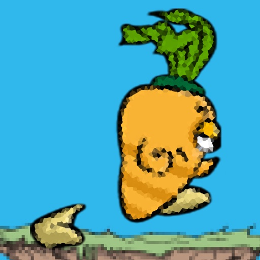 Jumpy Carrot - How Far Can You Run?