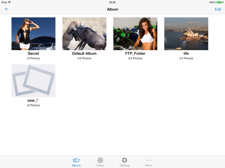 My Video Safe for iPad