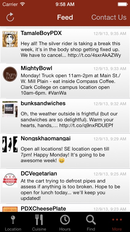 Food Carts Portland Mobile screenshot-4