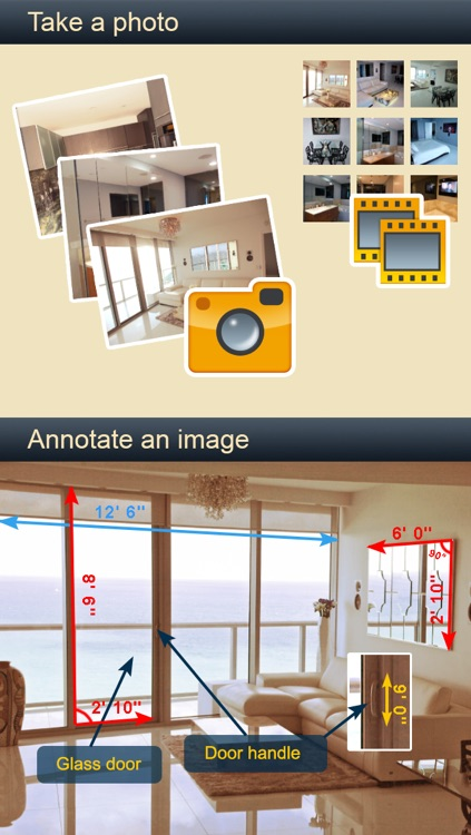 Measures & Notes - Best annotation app for home improvement projects