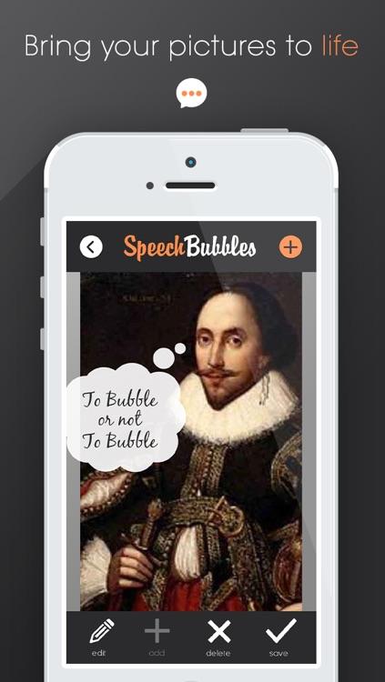 Speech Bubbles - Caption Your Photos