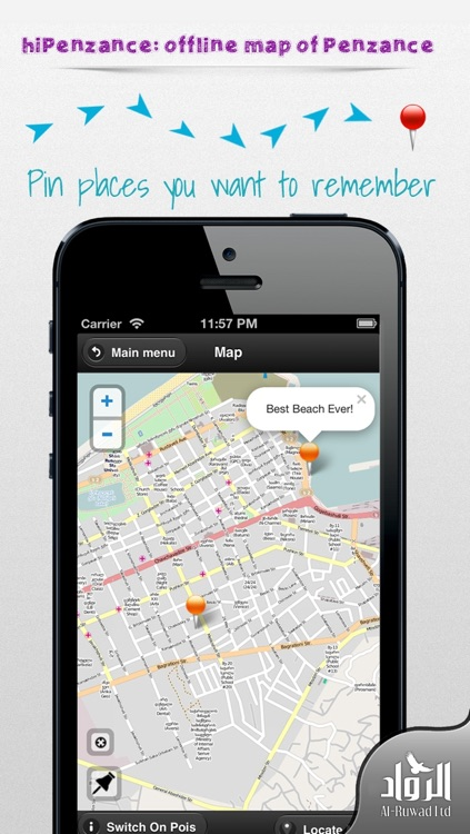 hiPenzance: offline map of Penzance screenshot-1