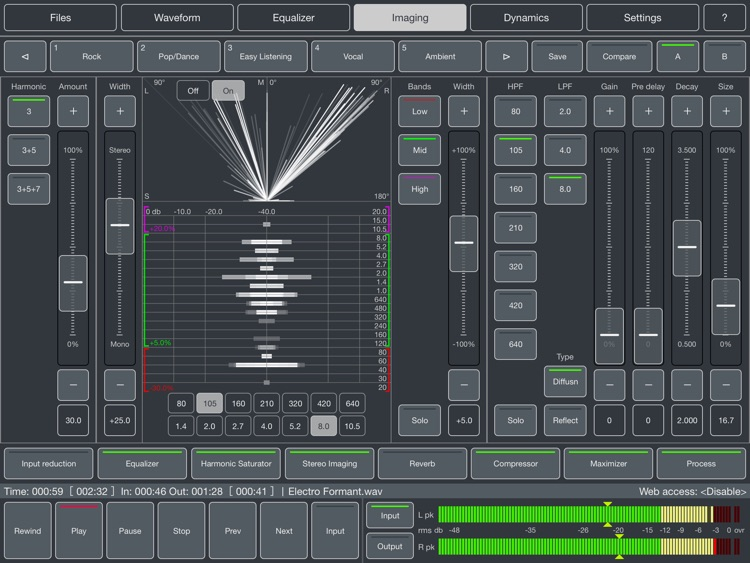 Audio Mastering screenshot-1