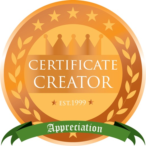 Appreciation Certificates 01