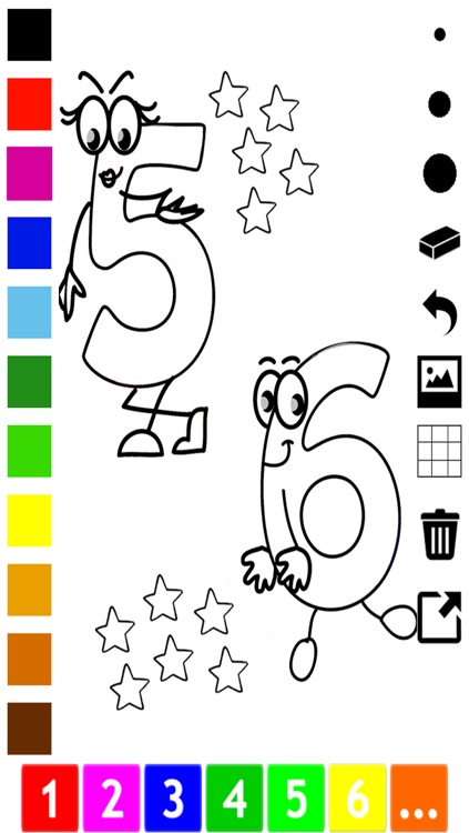 A Numbers Coloring Book for Toddlers: Learn to color and write 1-10 screenshot-4