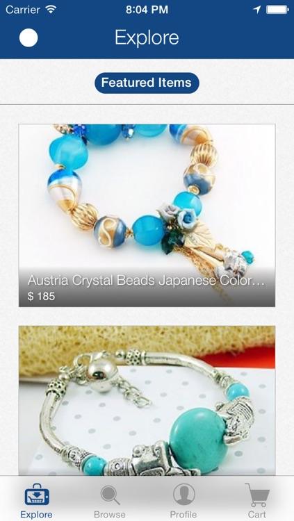 Jewellery Online - by Mobishopcart