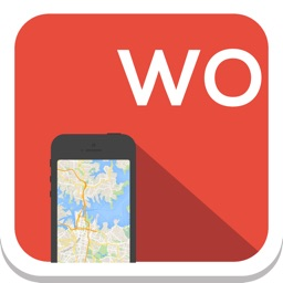 World offline map, guide, weather, hotels. Free navigation (GPS support)