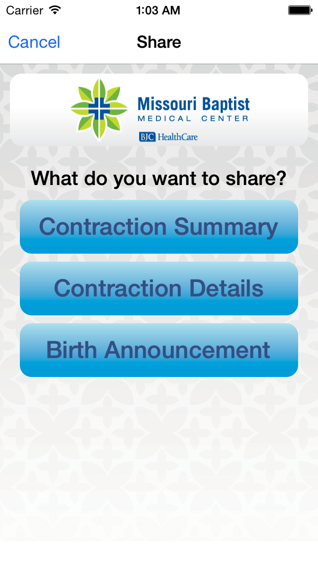MoBap Baby Delivery Planner screenshot two