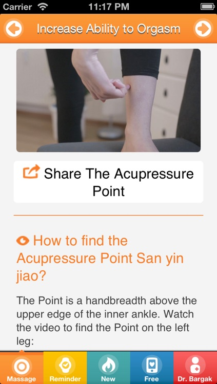Best Sex with Chinese Massage Points - FREE Acupressure Trainer for Women and Men