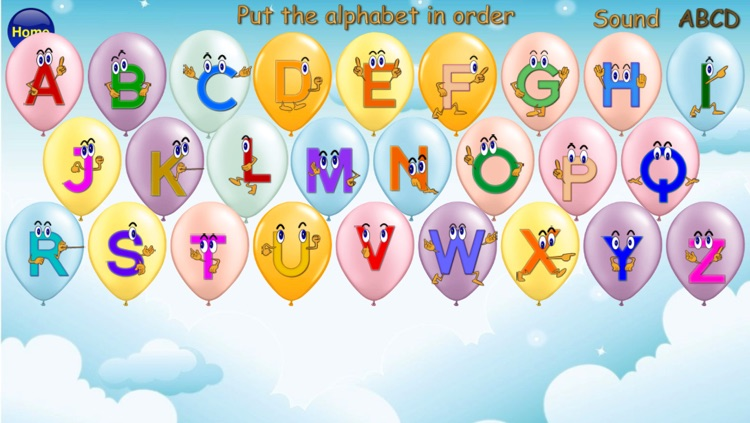 ABC Alphabet Phonics Order