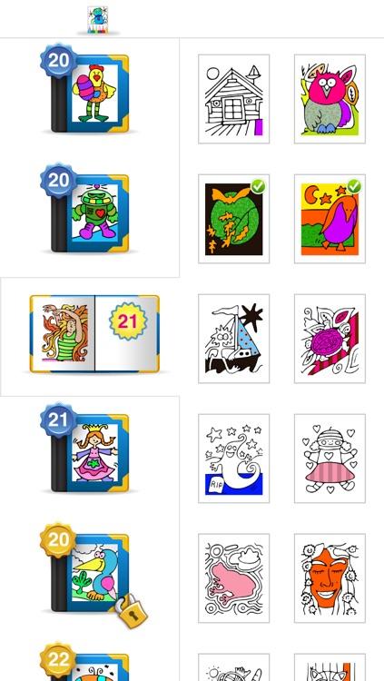 Colorama - Kids Coloring Book screenshot-3